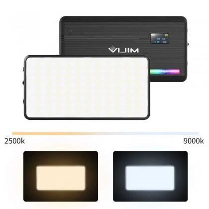 VIJIM VL196 RGB LED Video Light 2500K 9000K Dimmable Fill Light DSLR Smartphone Vlog Light Lamp Photography Lighting Kit Ulanzi